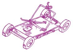 Mousetrap racing. Fun for kids