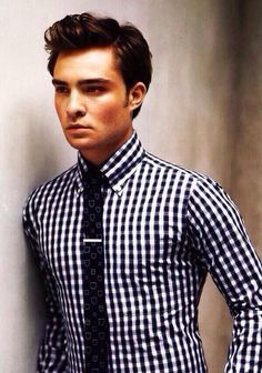 Ed Westwick - I'm kind of obsessed with British men. Okay . . . maybe more than kind of . .