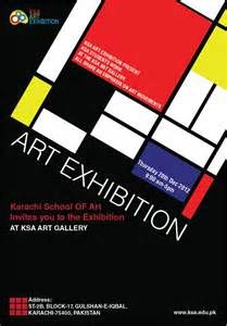 art exhibition posters