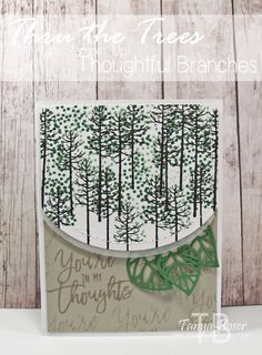 Tinkerin In Ink with Tanya: Stamp Review Crew Bonus Hop: Thoughtful Branches Edition