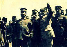 """"""" 'Saraylarının' içinde Türk'ten gayrı unsurlara istinat ederek, düşmanlarla ittifak ederek Türklüğün aleyhine yürüyen 'çürümüş gölge adamlarının' Türk vatanından kovulması, düşmanın denize dökülmesinden daha kurtarıcı bir harekettir."""" Gazi Mustafa Kemal ATATÜRK Dumlupınar/30 Ağustos 1924"""