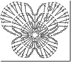 Crochet Flower – Chart