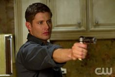 """Slice Girls"" - Jensen Ackles as Dean in SUPERNATURAL on The CW. Photo: Jack Rowand/The CW©2011 The CW Network, LLC. All Rights Reserved."