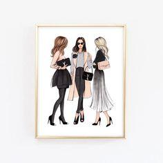 Www Wall Art De london print london art london poster fashion illustration fashion