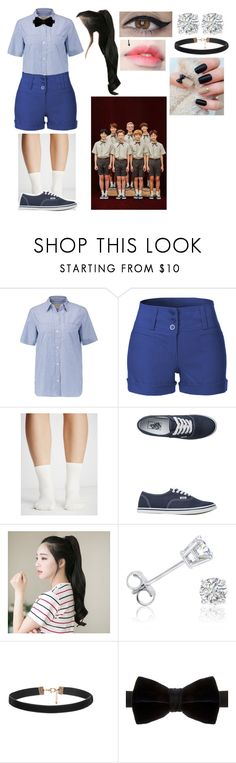 """""""NCT DREAM_Chewing Gum_Music Video (Outfit #1)"""" by itsdopeaf ❤ liked on Polyvore featuring Current/Elliott, LE3NO, Free People, Vans, GABALNARA, Amanda Rose Collection and Duchamp"""
