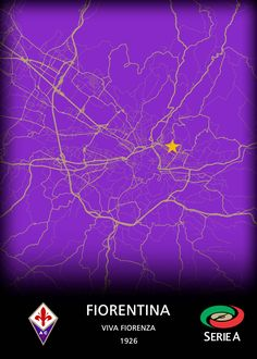 ACF Fiorentina detailed, premium quality, magnet mounted prints on metal designed by talented artists. Print Artist, Good Company, Cool Artwork, Trees To Plant, Maps, Poster Prints, Football, Club, The Originals