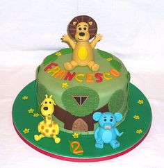 Raa Raa the noisy Lion birthday cake by EvaRose Cakes Lion Cakes, Lion Birthday, Jungle Cake, Rose Cake, Baby Cakes, Occasion Cakes, 1st Birthdays, Special Occasion, 1st Year Birthday