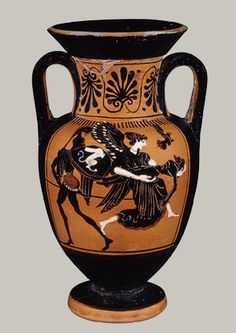 Etruscan neck-amphora. C.500BC The Metropolitan Museum of Art