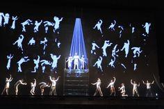 Akhnaten - Philip Glass/Long Beach Opera, 2011  (projection design: Frieder Weiss)