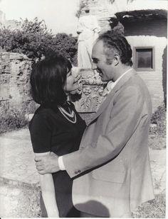 1967 Juliette GRECO Michel PICCOLI Rome Photo ORIGINALE | eBay