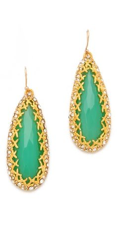 Alexis Bittar Siyabona Tear Earrings