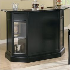 Lowest price online on all Coaster Inwood Contemporary Home Bar - 100175