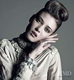 Photo of model #DianaMoldovan - ID 74606 | #Models | The FMD #lovefmd Diana Moldovan, Harpers Bazaar, Model Photos, Septum Ring, Fashion Models, Hair Beauty, Brooch, Beehive, Beautiful