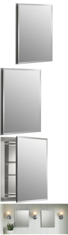 Medicine Cabinets 176991: Kohler 16 In W X 20 In H X 5 In Aluminum Recessed Medicine Cabinet Bathroom G -> BUY IT NOW ONLY: $99.97 on eBay!