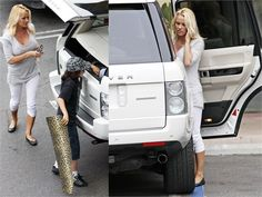 Pamela Anderson and her $100,000 supercharged Range Rover
