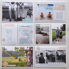 Project Life using Drift Away; layout by ctmm4