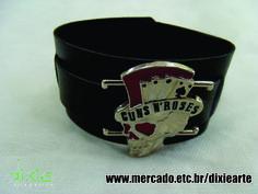 Bracelete Guns  www.mercado.etc.br/dixiearte