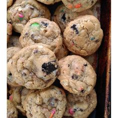 Inspired by the BEST scene ever in #TheWalkingDead (imo), these Dumpster Cookies are so good they might just make you stand up and cheer! #DeadEats #cookies #yummy #yum #dessert #instacookie #nom #food #TWD