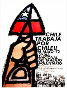 Afiches de la Unidad Popular - CHILE Victor Jara, Political Posters, Francis Bacon, Popular, Illustrations And Posters, Latin America, Street Style Women, Photos, Communism