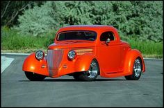 Custom Hot Rods | Custom '36 Ford 3-Window Coupe Up For Grabs