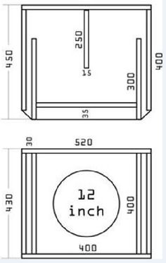Sub Box Subwoofer Enclosure Anp Anp S Collection Of 40 Subwoofer Enclosure Ideas,Garage Design Software