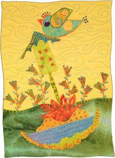 birds | Artfabrik – Extraordinary Hand-Dyed Fabrics & Threads | Page 5