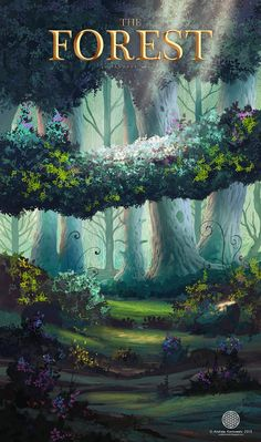The Forest, Andi Koroveshi on ArtStation at https://www.artstation.com/artwork/the-forest-b2498b31-6ff2-44fe-8411-13a8838a6a3b