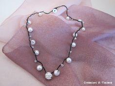 90 Fantastiche Immagini Su Collane Alluncinetto Crochet Necklaces