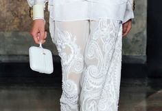cool chic style fashion: White details of Emilio Pucci Spring Summer 2013