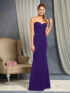 Alfred Angelo Mod Vintage Bridesmaid Dress 8640L | Bridesmaid ...
