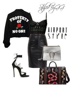 """""""$ First Class $"""" by gerald-mcelveen ❤ liked on Polyvore featuring Alexander McQueen, Gucci and Dsquared2"""