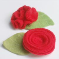How to Make a Fleece Rose (2 Ways) - While She Naps