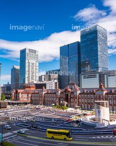 東京駅の写真素材