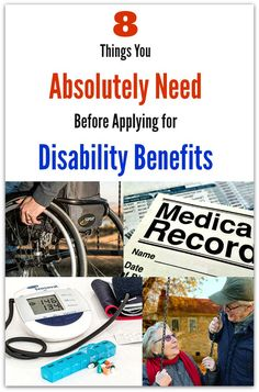8 Things You Absolutely Need Before Applying for Disability Benefits
