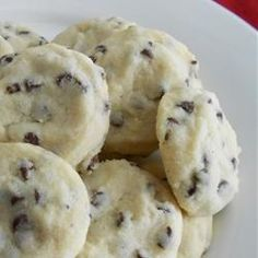 These are absolutely amazing cookies, my favorite I think! - Tina's Shortbread Chocolate Chip Cookies