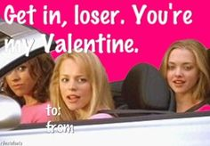 mean girls valentines card - Google Search