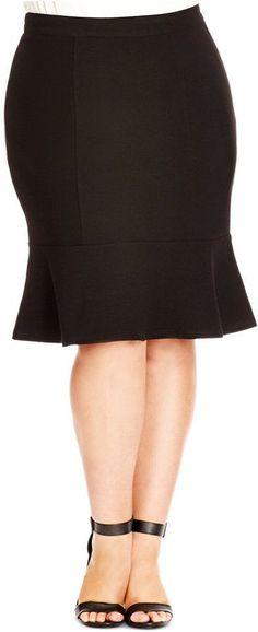 Love!  Plus Size Skirt - Plus Size Fashion for Women