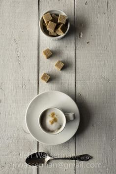 coffee + sugar cubes