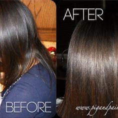 DIY Vinegar Rinse for Shimmery Shiny Hair {Hair Care}