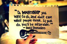 David Desrosiers Quote