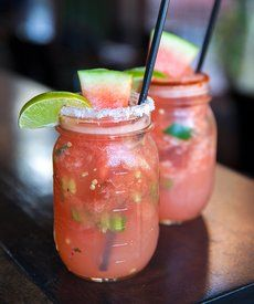Dame Peligro Cocktail: A spicy watermelon margarita for any occasion