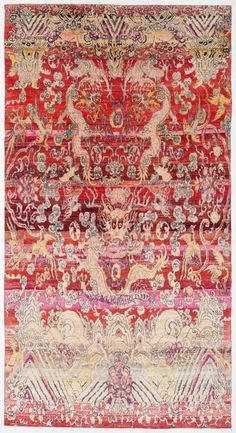 "Silk Ethos 4'11""x9'4"": Ethos oriental rugs runner rugs outdoor rugs bath rugs antiques rugs kitchen rugs bathroom rugs round rugs modern rugs carpets NYC - ABC Carpet & Home"