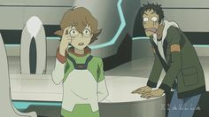 """Voltron -- The Misfits -- I love the way the Lance and Keith """"bonding"""" moments are edited together"""