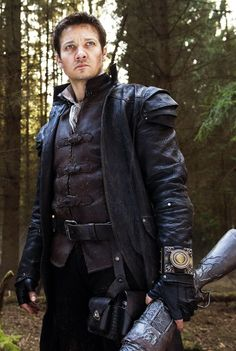 Watched Hansel & Gretel because of this hottie right hurr <3