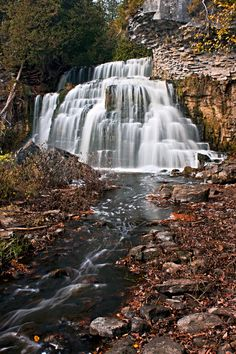 Jones Falls/Owen Sound On Can. by Scott Young Beautiful Waterfalls, Beautiful Scenery, Great Places, Places To See, Waterfall Fountain, O Canada, Fall Family, Weekend Trips, Rivers