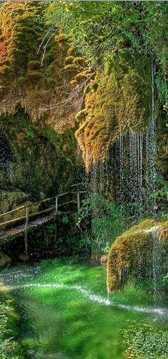 Caves of St. Christopher, Labonte, Italy | ༺ ♠ ༻*ŦƶȠ*༺ ♠ ༻