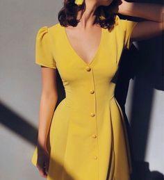 Women's Dresses, Pretty Dresses, Dress Outfits, Casual Dresses, Fashion Dresses, Modest Fashion, Look Fashion, Fashion Tips, Fashion Design