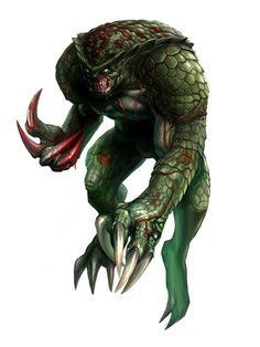 View an image titled 'Hunter Art' in our Resident Evil Zero art gallery featuring official character designs, concept art, and promo pictures. Resident Evil Hunter, Resident Evil Monsters, Resident Evil Video Game, Character Art, Character Design, Vampire Masquerade, Evil Art, Zombie Art, Arte Obscura