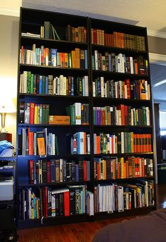 Ikea Billy bookcases- i need this for all my books! Billy Ikea, Ikea Billy Bookcase, Bookshelves, Decorating Small Spaces, Furniture, Home Decor, House Ideas, Homes, Bedroom