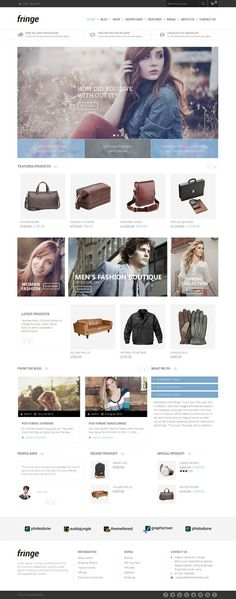 Fringe is #wordpress ecommerce #theme based on WooCommerce plugin. It is suitable for cosmetic, Shoes, beauty, women and fashion related online stores. http://www.templatemela.com/fringe-woocommerce-responsive-theme.html